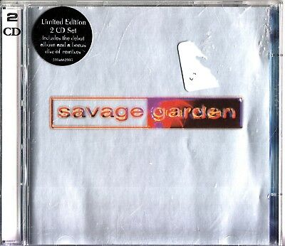 SAVAGE GARDEN- Limited Edition 2 CD- Bonus Disc- The Future Of Earthly Delites