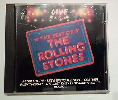 The Rolling Stones - The Best Of Rolling Stones Live Recording - Cd - Italy 1992