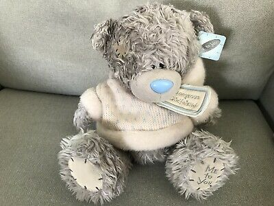 Carte blanche teddy me to you large 'gorgeous girlfriend' bear. 8""