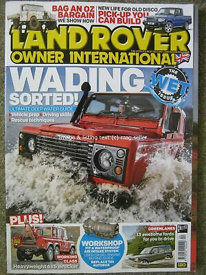 Land Rover Owner International April 2019 Discovery Defender 6x6 Series I APGP