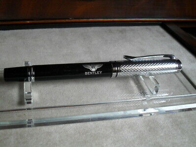 BENTLEY logo rollerball pen, lovely quality item from private collection