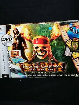 Pirates of the Caribbean DVD Board Game Dead Mans Chest : See Listing :