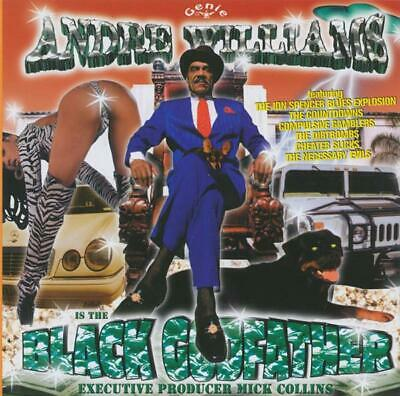ANDRE WILLIAMS - BLACK GODFATHER - CD ALBUM our ref 1464