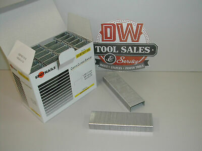 "SW7437 5/8"" Carton Closing Staples for Bostitch DS3522, D16-2, F84 (24,000) CASE"