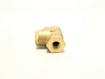 Milwaukee Brass Threaded 1/4in Npt Check Valve