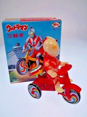 "gsTOP GS JAPAN HEROES ""ULTRAMAN TRICYCLE"" BULLMARK JAPAN, NEU/NEW/NEUFnNEW BOX !"