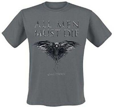 Game Of Thrones All Men Must Die Mens T Shirt Xl New Official