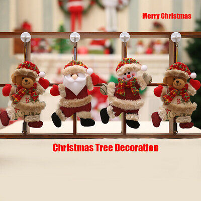 Santa Clause Merry christmas doll Home Hanging Ornaments Tree decoration