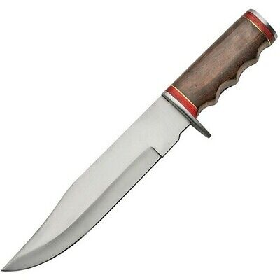 SCZO 203380 Hunting/Survival/Camping + Sheath Fixed Blade Bowie Knife