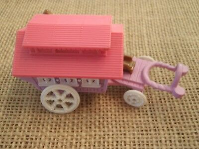 Vintage Polly Pocket Bluebird Circus Wagon on the Go Gypsy Compact ONLY