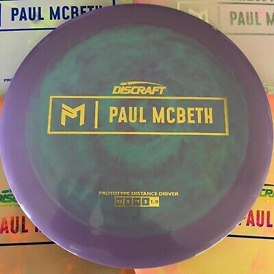 e78f265dd1a DISCRAFT Prototype Paul McBeth 170-172g Swirly ESP Kong Pick Your Color    Stamp2