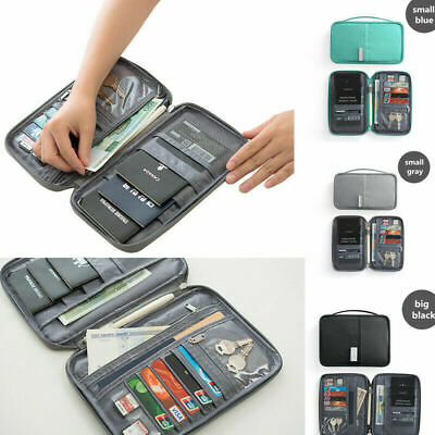 Travel Wallet Family Passport Holder Waterproof ID Card Document Case Bag Hot