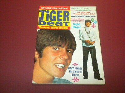 TIGER BEAT magazine 1968 OCTOBER - TEEN - Monkees AND MUCH MORE!