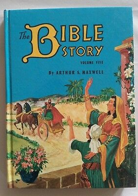 Vintage Arthur Maxwell The Bible Story Book Volume Five 1955