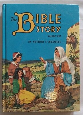 Vintage Arthur Maxwell The Bible Story Book Volume One 1953