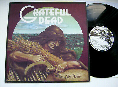 """Grateful Dead Wake Of The Flood - '73 Gd Records Lp Orig """"No Titles"""" Cover - Nm"""