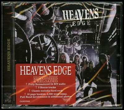 Heavens Edge self titled 1990 CD new Rock Candy Records s/t same