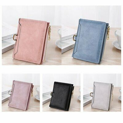 Hot Ladies Short Small Money Purse Wallet Ladies Leather Folding Card Holder YS