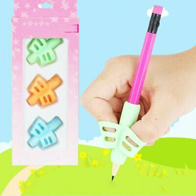 Baby Children Pencil Holder Pen Writing Aid Grip Posture Tools Correction YS