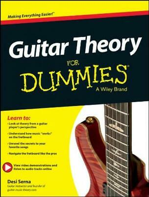 Guitar Theory For Dummies: Book + Online Video & Audio Instruction Paperback...