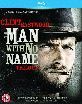The Man With No Name Trilogy Blu-Ray New Region B
