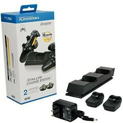 PS4 Energizer stazione di ricarica / Charging Dock + Batterypacks pdp nell'imbal