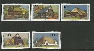 Germany 1996 Farmhouses (5),  Mi 1883-1887, Mnh**