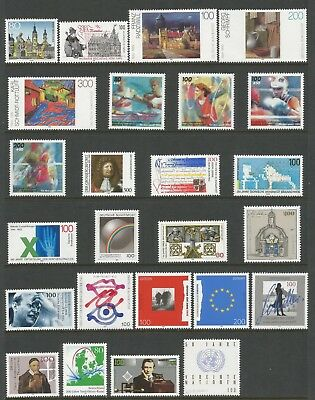 GERMANY 1995 SELECTION (54 + 4 x MS),  MNH**