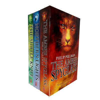 Philip Pullman 3 Books New Collection Set PackThe Amber Spyglass,Northern Lights