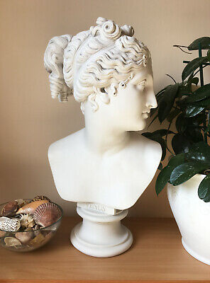 Venus Bust Statue (Large) - Greek Goddess Venus Italica by Antonio Canova