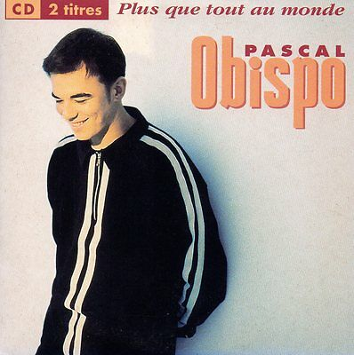 CD Single Pascal OBISPO Feat ZAZIE	Plus que tout au monde 2-TRACK CARD SLEEVE