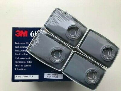 5 pairs 3M - 6035 SERIES PARTICULATE CARTRIDGE FILTERS P3 - (5 pairs - 10 units)