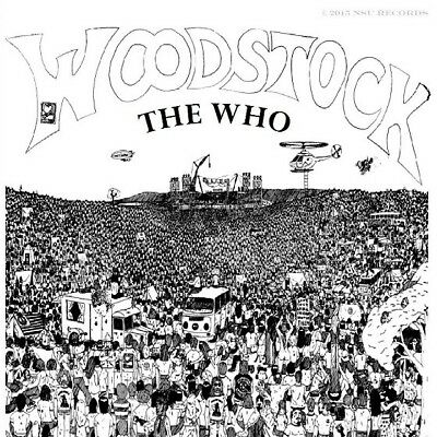 The Who  -  Live Woodstock Festival 1969 August 17th LIMITED CD