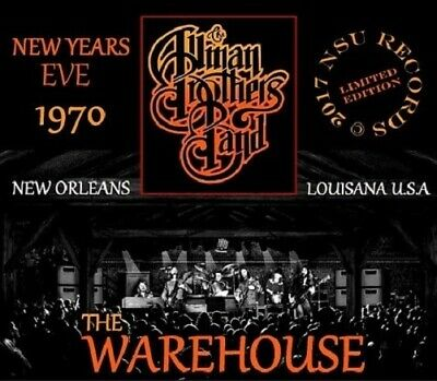 THE ALLMAN BROTHERS BAND LIVE AT THE WAREHOUSE IN NEW ORLEANS 1971 DEC 31st 3 CD