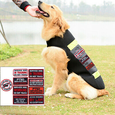 Embroidery patch pet service dog tactical emblem military badge clothing YJ