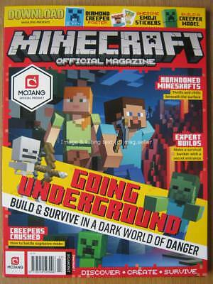 Minecraft Official Magazine issue 7 Build a Creeper Model Farming Guide