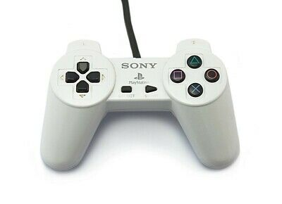 PS1 / Playstation 1 - originale Sony controller SCPH-1080 #bianco usato