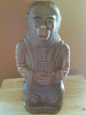 Vintage 1967 Planet Of The Apes Cornelius  Blow Mold Bank A.j. Renzi 17 1/2""
