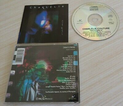 Cd Album Solo Girls - Couture Charlelie 10 Titres 1988 Chrysalis Made In Holland