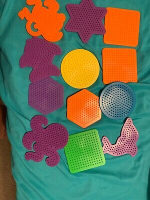 Perler Beads Funfusion HUGE Lot W/ Some Patterns