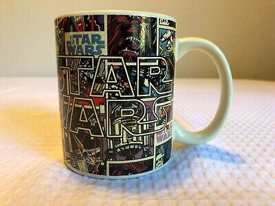 Star Wars Coffee Cup-comic Strip,jedi Master Jerry Leigh Ceramic Mug Dark Side