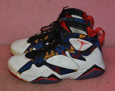b81d0295c70dab Nike Air Jordan VII 7 Retro NOTHING BUT NET Ugly Sweater 304775-142 Size 9