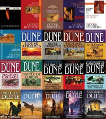 Dune 20 Audiobooks Complete Collection - MP3-DVD