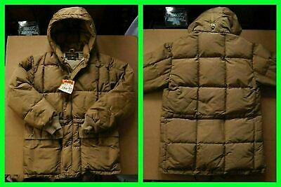 079cd9bfd4b6e Vintage EDDIE BAUER DOWN JACKET - SQUARE-QUILTED/HOOD small/medium PARKA/