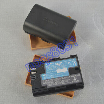 2 X Original LPE6N Battery For Canon LP-E6 battery EOS 5D2 5D3 70D 7D Mark II
