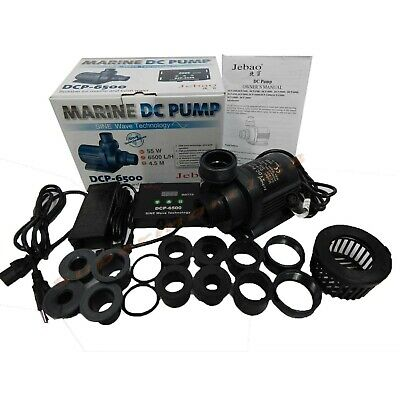 Jebao/Jecod DCP-6500 Submersible Return water Pump for Reef Tank upgrade DCT DCS