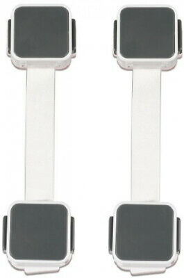 Munchkin XTRAGUARD 2 Count Dual Action Multi Use Latches Pack of 4 (8 Count)
