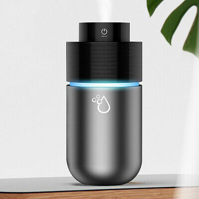 LED Mini Portable Car Humidifier Air Purifier Freshener Essential Oil Diffuser