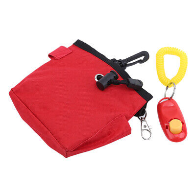 Pets Dog Puppy Obedience Training Treat Bag Feed Bait Food Snack Pouch Belt LA
