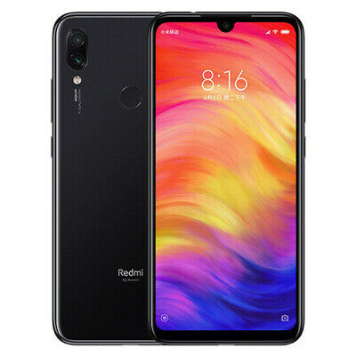"Xiaomi Redmi Note 7 4GB 128GB Smartphone 4G 6.3"" Screen 48MP 4000mAh"